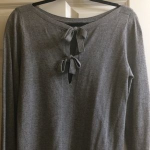 Banana Republic Grey Italian Yarn Sweater